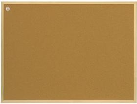 Tablica korkowa 2x3, w ramie drewnianej, 120x180cm, brązowy
