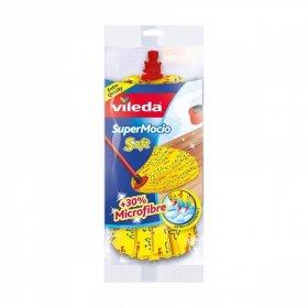 Końcówka do mopa Vileda SuperMocio Soft, wiskoza, żółty