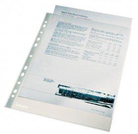 Koszulki krystaliczne Esselte, A4, 40µm, 100 sztuk, transparentny