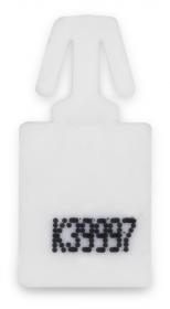 Plomby Minibagseal, 500 sztuk, biały