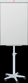 Flipchart mobilny Nobo Classic, magnetyczna, 69x74.5cm, srebrno-czarny