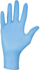 Rękawice nitrylowe bezprudrowe Nitrylex Classic PF, rozmiar XL, 100 sztuk, niebieski