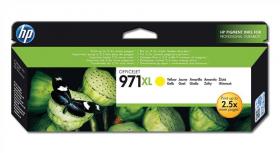 Tusz HP 971XL (CN628AE), 6600 stron, yellow (żółty)