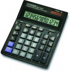 Kalkulator Citizen SDC-554S, 14 cyfr, czarny