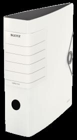Segregator Leitz Solid 180°, A4, szerokość grzbietu 82mm, do 500 kartek, biały