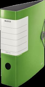 Segregator Leitz Active Solid 180, A4, szerokość grzbietu 75 mm, do 750 kartek, zielony