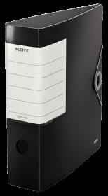 Segregator Leitz Active Solid 180, A4, szerokość grzbietu 75 mm, do 750 kartek, czarny