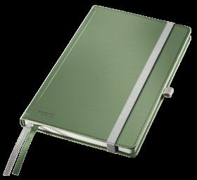 Notatnik w kratkę Leitz Style, A5, twarda oprawa, 80 kartek, pistacjowa zieleń