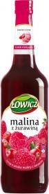 Syrop malina z żurawiną Łowicz, 440ml