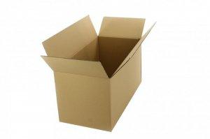 Karton klapowy, 5 warstw 800x600x600mm, brązowy