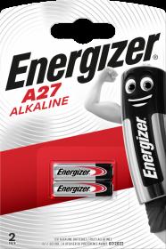 Bateria specjalistyczna Energizer, A27, 12V, 2 sztuki