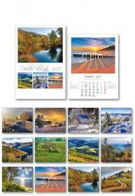 Kalendarz wieloplanszowy Udziałowiec 2017 Polskie Klimaty