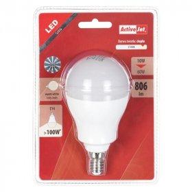 Żarówka  LED ActiveJet, 10W, E14, ciepły, biały