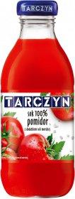 Sok pomidorowy z dodatkiem soli morskiej Tarczyn, butelka szklana, 0.3l