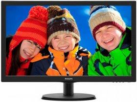 Monitor Philips 223V5LSB2/10, 21.5'', czarny