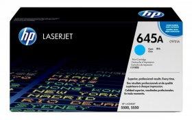Toner HP 645A (C9731A), 12000 stron, cyan (błękitny)