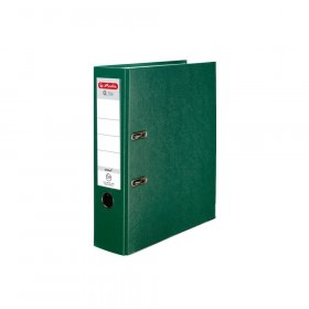 Segregator Herlitz Q.file, A4, szerokość grzbietu 80mm, zielony