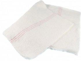Ścierka do podłogi Basia, bawełna, 60x80 cm, 1 sztuka, biały