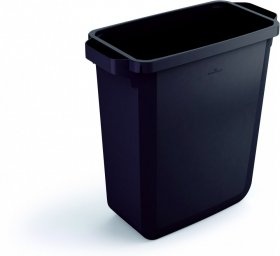 Kosz do segregacji odpadów Durable, 60l, czarny