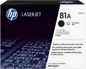 Toner HP CF281A (81A), 10500 stron, black (czarny)