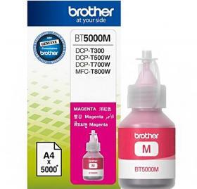 Tusz Brother (BT5000M), 5000 stron, magenta (purpurowy)