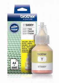 Tusz Brother (BT5000Y), 5000 stron, yellow (żółty)