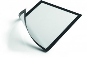 Ramka magnetyczna Durable Magnetic, A4, 5 sztuk, czarny