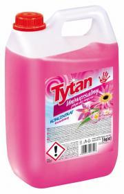 Płyn uniwersalny Tytan, 5kg, kwiatowy