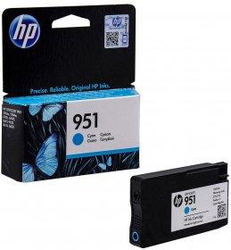 Tusz HP 951 (CN050AE), 700 stron, cyan (błękitny)
