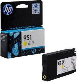 Tusz HP 951 (CN052AE), 700 stron, yellow (żółty)