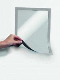 Ramka magnetyczna Durable Magnetic, A4, 5 sztuk, srebrny