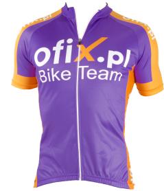 Koszulka kolarska męska Ofix.pl rozmiar XL