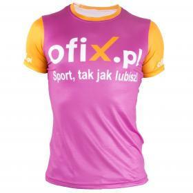 Koszulka sportowa damska Ofix.pl rozmiar L