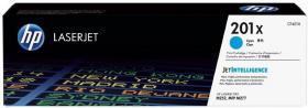 Toner HP 201X (CF401X), 2300 stron, cyan (błękitny)