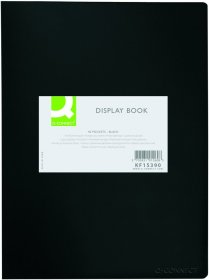 Album ofertowy Q-connect, A3, 380µm, 20 koszulek, czarny