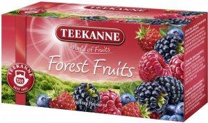 Herbata owocowa w kopertach Teekanne Forest Fruits, owoce leśne, 20 sztuk x 2.5g