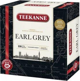 Herbata Earl Grey czarna w torebkach Teekanne, 100 sztuk x 1.65g