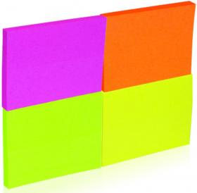 Notes samoprzylepny Donau, 38x51mm, 200 karteczek, mix neonowy