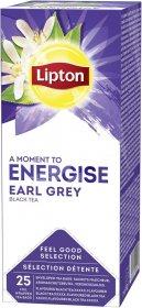Herbata Earl Grey czarna w kopertach Lipton Classic, 25 sztuk x 2g