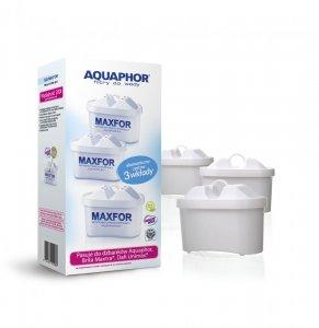 Wymienny wkład filtrujący Aquaphor Maxfor B100-25, 3 sztuki