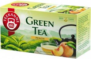 Herbata zielona smakowa w kopertach Teekanne Green Tea Peach, brzoskwinia, 20 sztuk x 1.75g