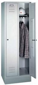 Szafa ubraniowa CP, metal, 1800x610x500mm, grubość blachy 0.8-1.0 mm, szary
