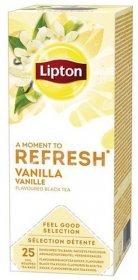Herbata czarna smakowa w kopertach Lipton Classic, Vanilia, 25 sztuk
