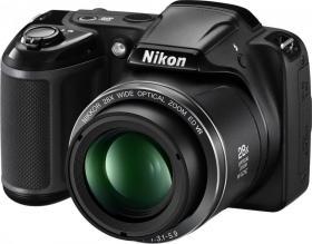 Aparat cyfrowy Nikon, Coolpix L340, czarny