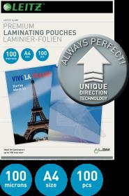 Folia do laminacji Leitz UDT, A4, 100 µm, 100 sztuk