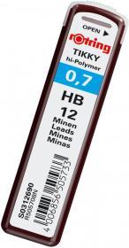 Grafity ołówkowe Rotring Tikky, 0.7mm, HB