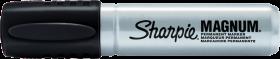 Marker permanentny Sharpie Magnum, ścięta, 14.8mm, czarny