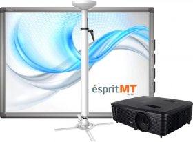 Zestaw Tablica Esprit Plus Pro ,projektor Optoma DX342, uchwyt UPB2