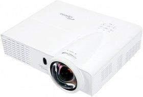 Projektor multimedialny Short Throw Optoma X305ST, DLP  XGA, 3000 ANSI, o krótkim rzucie, biały