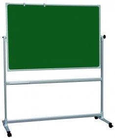 Tablica obrotowo-jezdna 2x3, 100x170, kredowa UKF, zielony